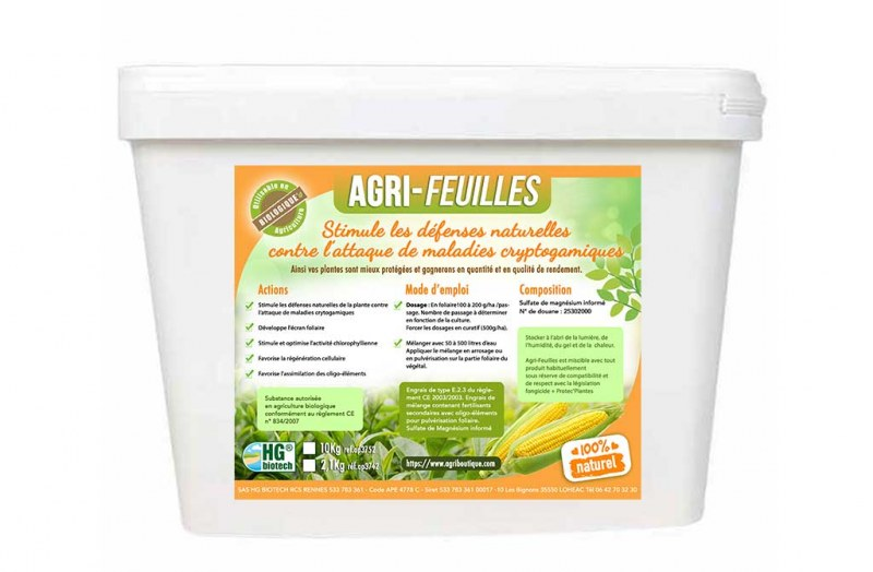 AGRI-FEUILLES 10 KG