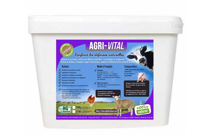 AGRI-VITAL 10 KG